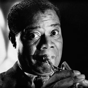 a biography of louis armstrong who blasted swing and jazz into the music world With keith david, louis armstrong, sidney bechet, duke ellington a survey of the musical form's history and major talents.