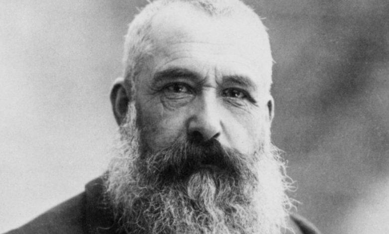 Photo of Claude Monet