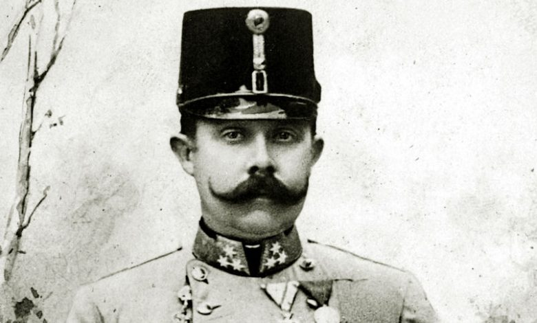 Photo of Archduke Franz Ferdinand of Austria