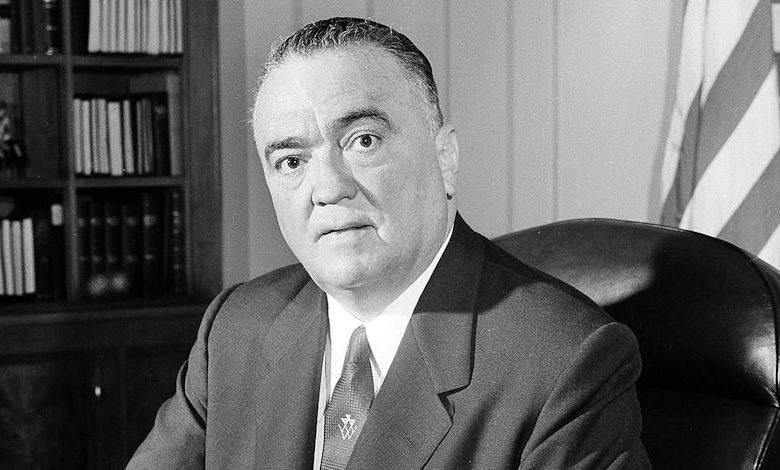 Photo of J. Edgar Hoover