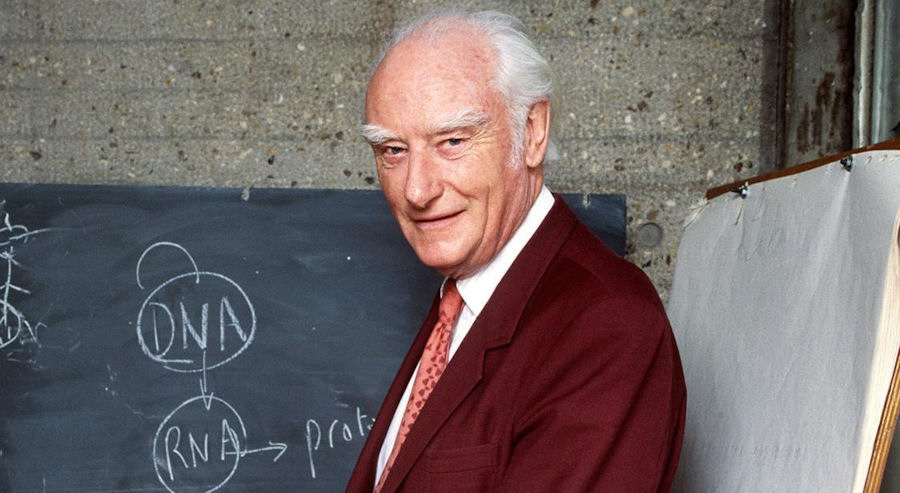 Photo of Francis Crick