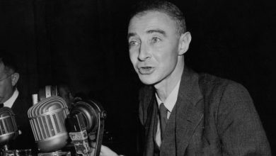 Photo of J Robert Oppenheimer