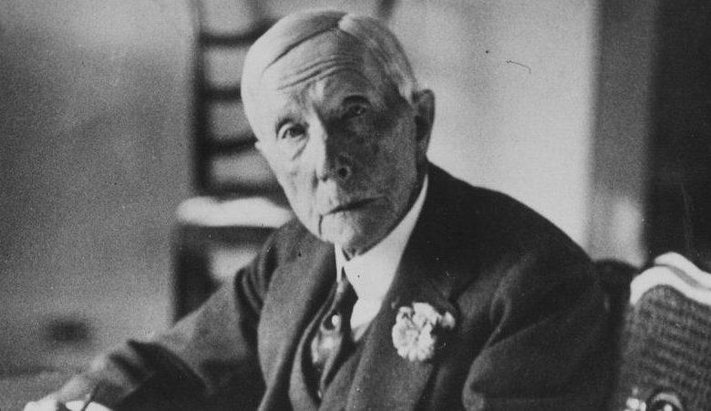 Photo of John D Rockefeller